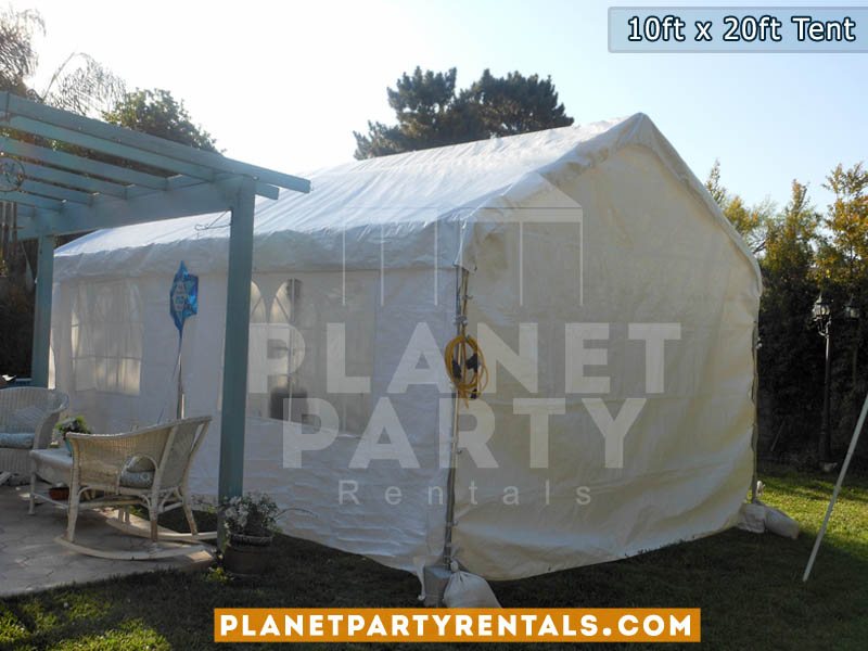 Party Tent Rental 10feet by 20feet Canopy - rental includes free delivery
