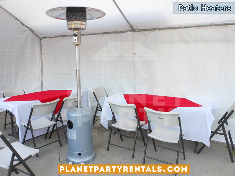 Patio Heater Rentals | Heater Rentals San Fernando Valley - Outdoor Patio Heaters PartyRetanls Canopy Tents Chairs Tables