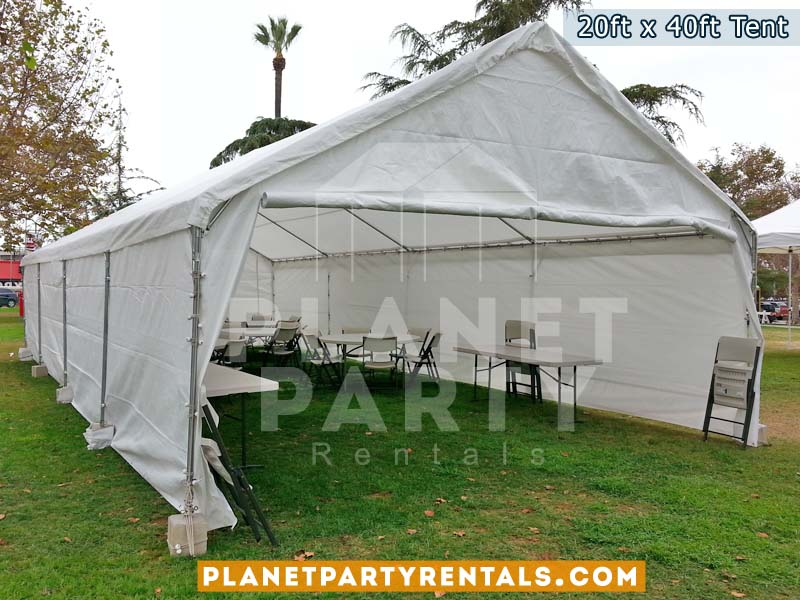 Party Tent for Large events - 20x40 Tent  on grass