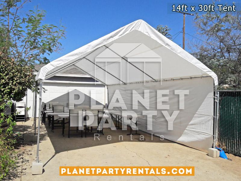 14ft x 30ft White Tent Rental
